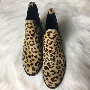Aldo Leopard Print Ankle Boot Size 7